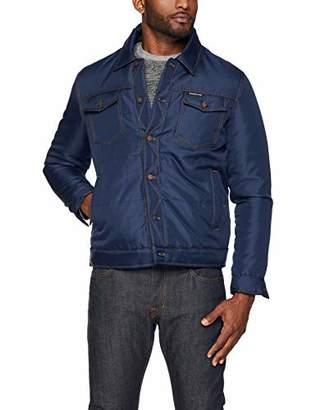Members Only Men's Oxford Trucker Jacket