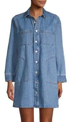 Madewell Classic Denim Shirtdress