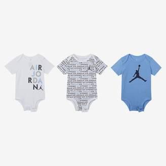 f39490241c Nike Baby (0-9M) Bodysuit Set (3 Pack) Air Jordan