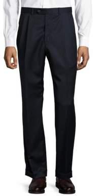 Lauren Ralph Lauren Pleated Wool Dress Pants