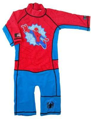Spiderman Ultimate Uv Sun And Swim Suit 3 To 4 Years 3-4 yrs