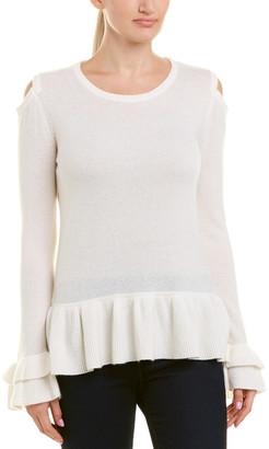 Qi Cold-Shoulder Cashmere Sweater