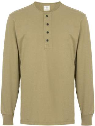 Kent & Curwen fitted long-sleeve top