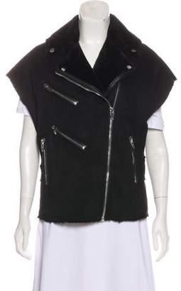 Blank NYC Notch-Lapel Zip-Up Vest