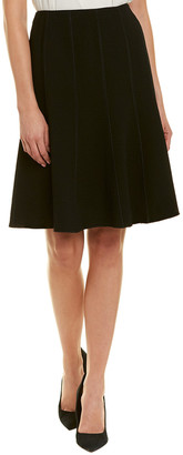 Lafayette 148 New York Parisa Wool A-Line Skirt