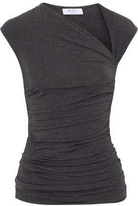 Bailey 44 Blaze 1 Ruched Stretch-jersey Top