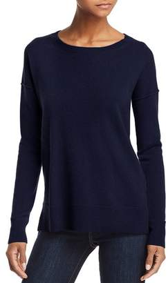 Aqua High/Low Cashmere Sweater - 100% Exclusive