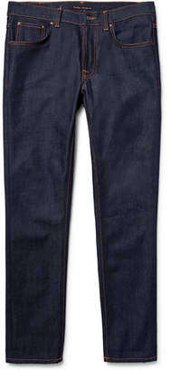Nudie Jeans Lean Dean Slim-Fit Dry Organic Denim Jeans