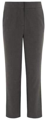 George Girls Grey Slim Leg School Trousers