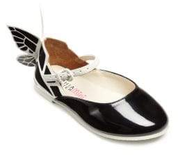 Sophia Webster Toddler's& Kid's Chiara Butterfly Mini Patent Leather Shoes