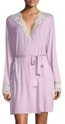 Cosabella Preta Sleep Lace-Trimmed Robe