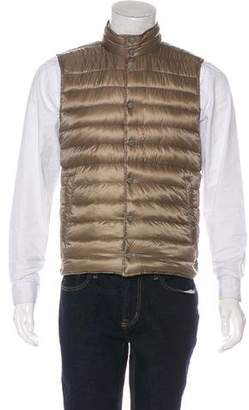 Herno Quilted Reversible Down Vest