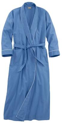 L.L. Bean L.L.Bean Pima Cotton Flannel Robe