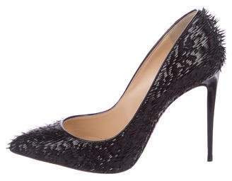 a5d58002cd72 Christian Louboutin Black Spike Heel Pumps - ShopStyle