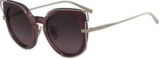 MCM Cat-Eye Zyl & Metal Sunglasses