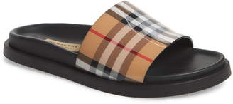 Burberry Vintage Check Slide Sandal