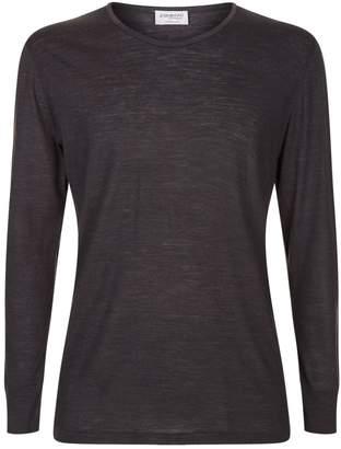 Zimmerli Wool and Silk Long Sleeve Top