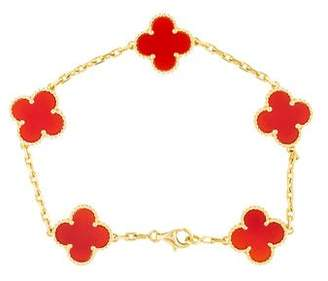 Van Cleef & Arpels Vintage Alhambra 5 Motifs Bracelet