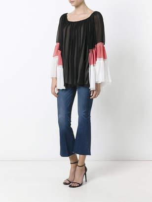 Chloé Draped off-shoulder blouse