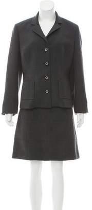 Tory Burch Notch-Lapel Skirt Suit