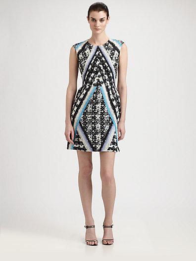 Peter Pilotto Tri Dress