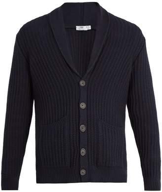 INIS MEÁIN Shawl-lapel organic-cotton cardigan