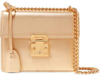2beebea26a4f Mark Cross Zelda Textured-leather Shoulder Bag - Gold