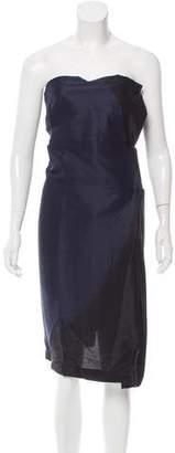 Gianfranco Ferre Strapless Mini Dress
