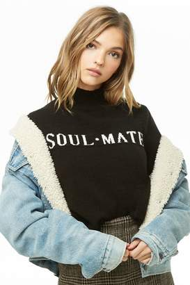Forever 21 Soul Mate Brushed Knit Sweater