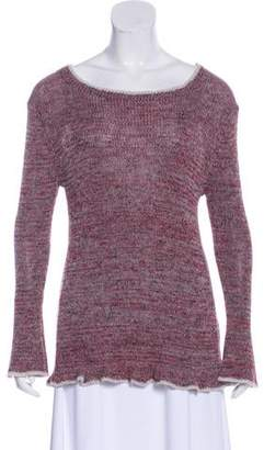 Etoile Isabel Marant Long Sleeve Scoop Neck Sweater