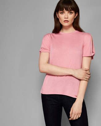 Ted Baker NARVA Twisted cuff T-shirt