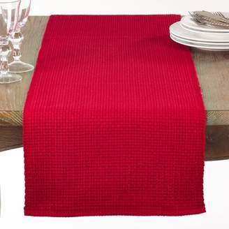 August Grove Audrick Textured Woven Table Runner