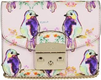 Furla Bird Print Shoulder Bag