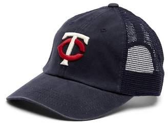 American Needle Minnesota Twins Raglan Bones Mesh Baseball Cap