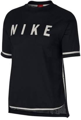 Nike Sportswear Short Sleeve Dri-FIT Mesh Tee