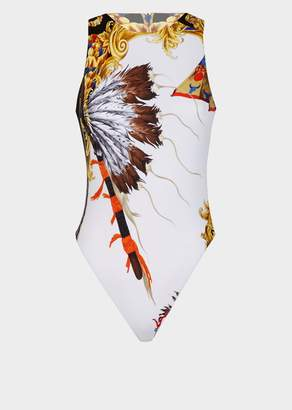 Versace Native Americans FW'92 Bodysuit