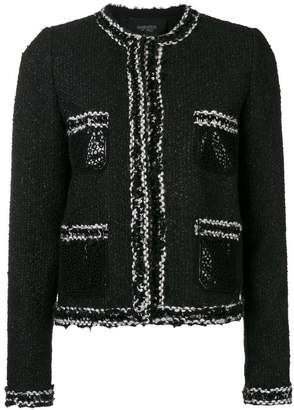 Giambattista Valli two-tone knit jacket