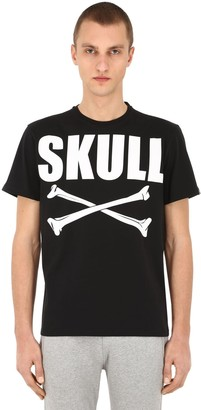 Hydrogen Skull Bones Cotton T-Shirt