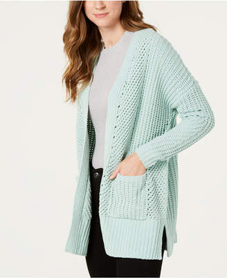 Style&Co. Style & Co Chenille Open-Front Cardigan