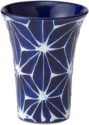 Japanese Porcelain 琉璃 麻の葉 アペリティフ