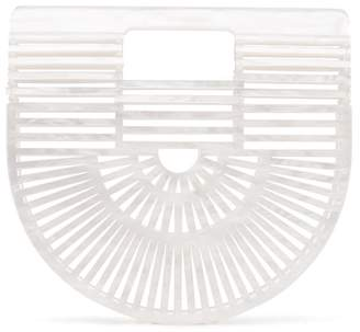 Cult Gaia White Ark Small acrylic bag