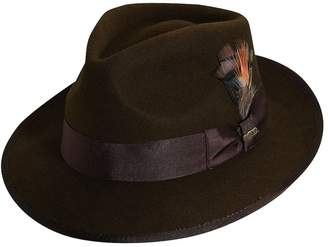 Scala Classico Men's Wool Felt Snap Brim Fedora