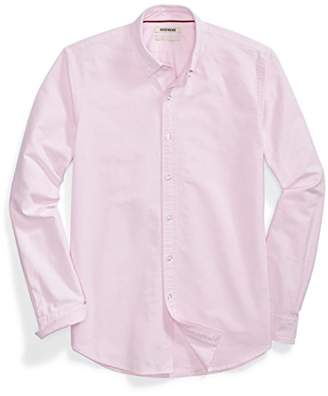 Goodthreads Men's Standard-Fit Long-Sleeve Solid Oxford Shirt