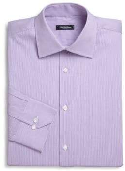 Saks Fifth Avenue COLLECTION Micro Stripe Dress Shirt