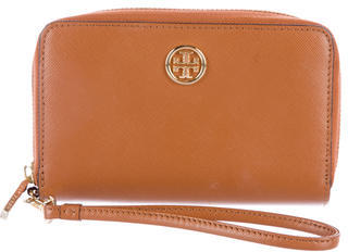 Tory Burch Tory Burch Leather Zip-Around Wallet