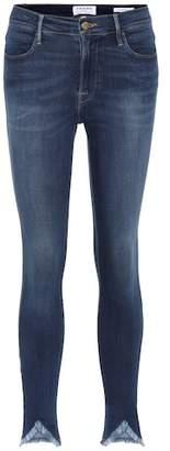 Frame Le High Skinny Triangle Hem jeans
