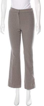 Etro Patterned Mid-Rise Flared Pants