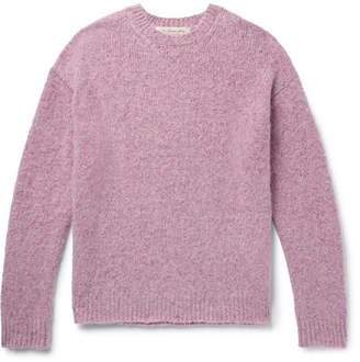Remi Relief Oversized Mélange Cashmere Sweater