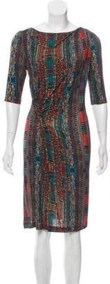Etro Knee-Length Bodycon Dress
