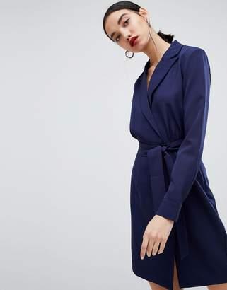 Unique21 Unique 21 tailored dress with belt